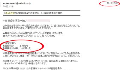 ネットオフ 買取手順02
