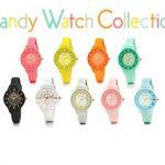 めざましテレビで紹介!フォリフォリの春色カラフルな時計「Candy Watch Collection」