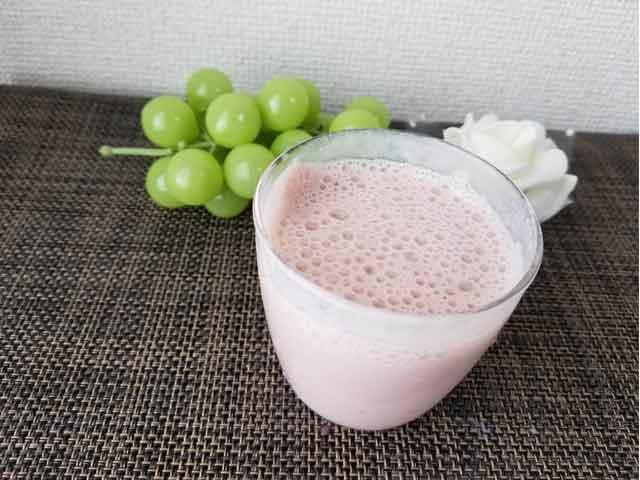 ヨガフルーツスムージ+豆乳